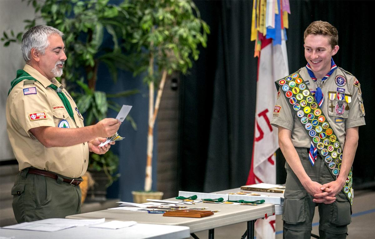 Eagle Scout Ray Langlais