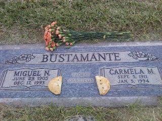 Bustamante headstone