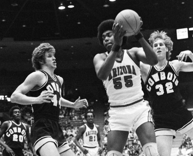 Arizona basketball vs. Wyoming, 1976