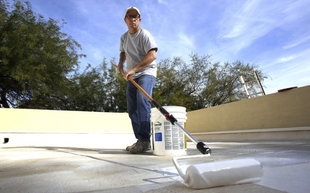 Top It Off Coating Can Save Roof Energy