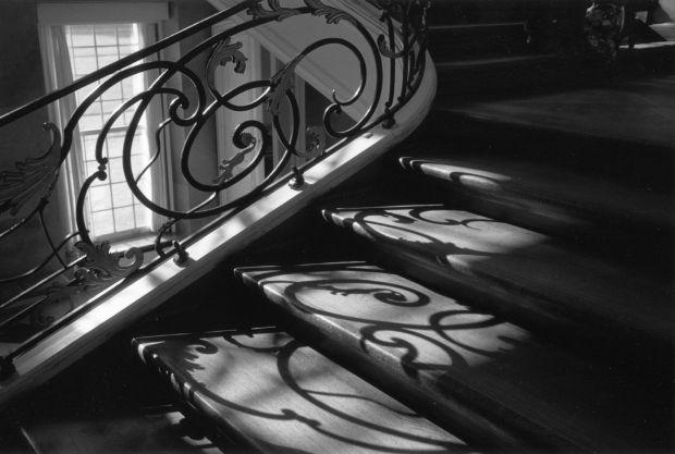 Staircase, Berlin 1992, by Ben Golden.