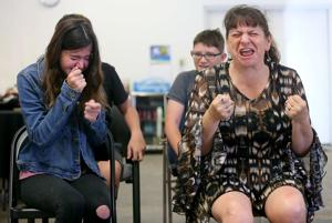 Photos: Teens learn Improv skills through Unscrewed Theater