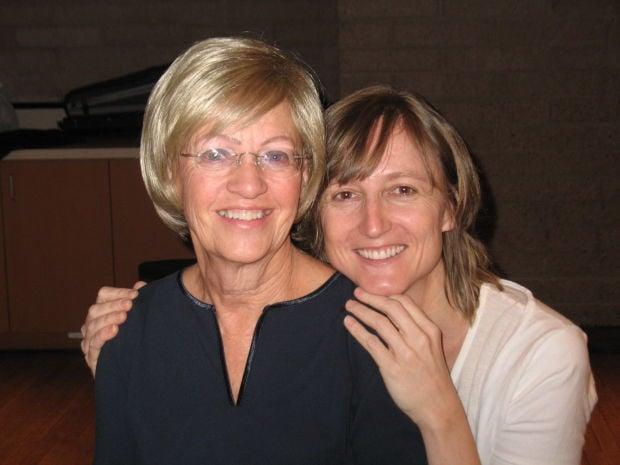 Mary Lonsdale Baker and Bernadette Harvey