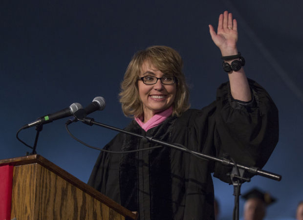 Giffords receives honorary degree