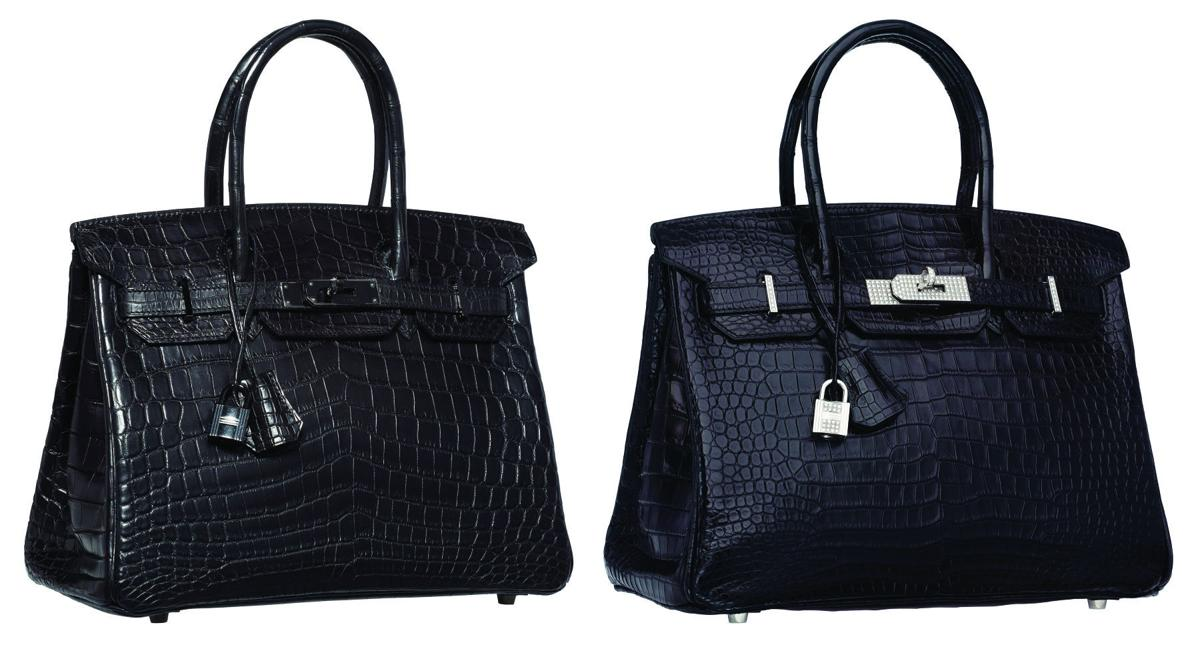 One Of These Hermes Birkin Bags Sold For 125k The Other Brought 118 750 Can You Tell Which Is Both At Heritage Auctions In New York