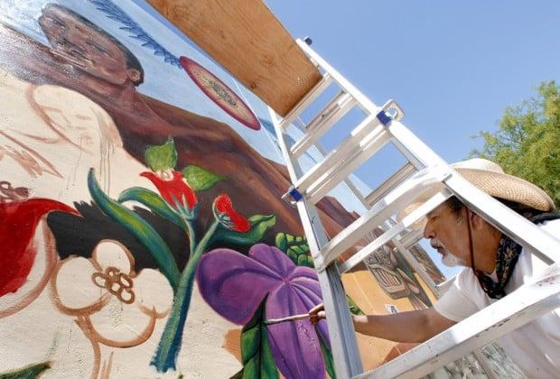 Artist Moreno resurrects students' La Pilita mural