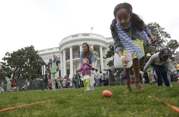 30,000 join Obamas for Easter egg roll