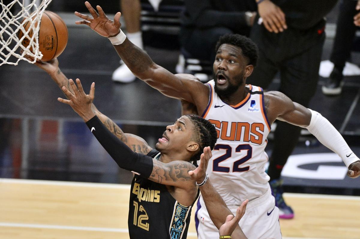 CORRECTION Suns Grizzlies Basketball