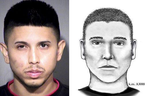 Phoenix serial killings suspect left behind shell casings