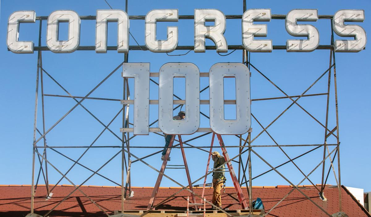 Congress Hotel 100 anniversary