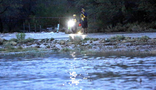 Crews Respond To Swift Water Rescue Flash Flood Warning
