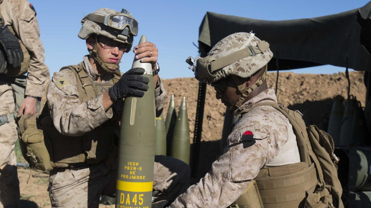 Raytheon looks to adapt guided artillery shell to naval guns