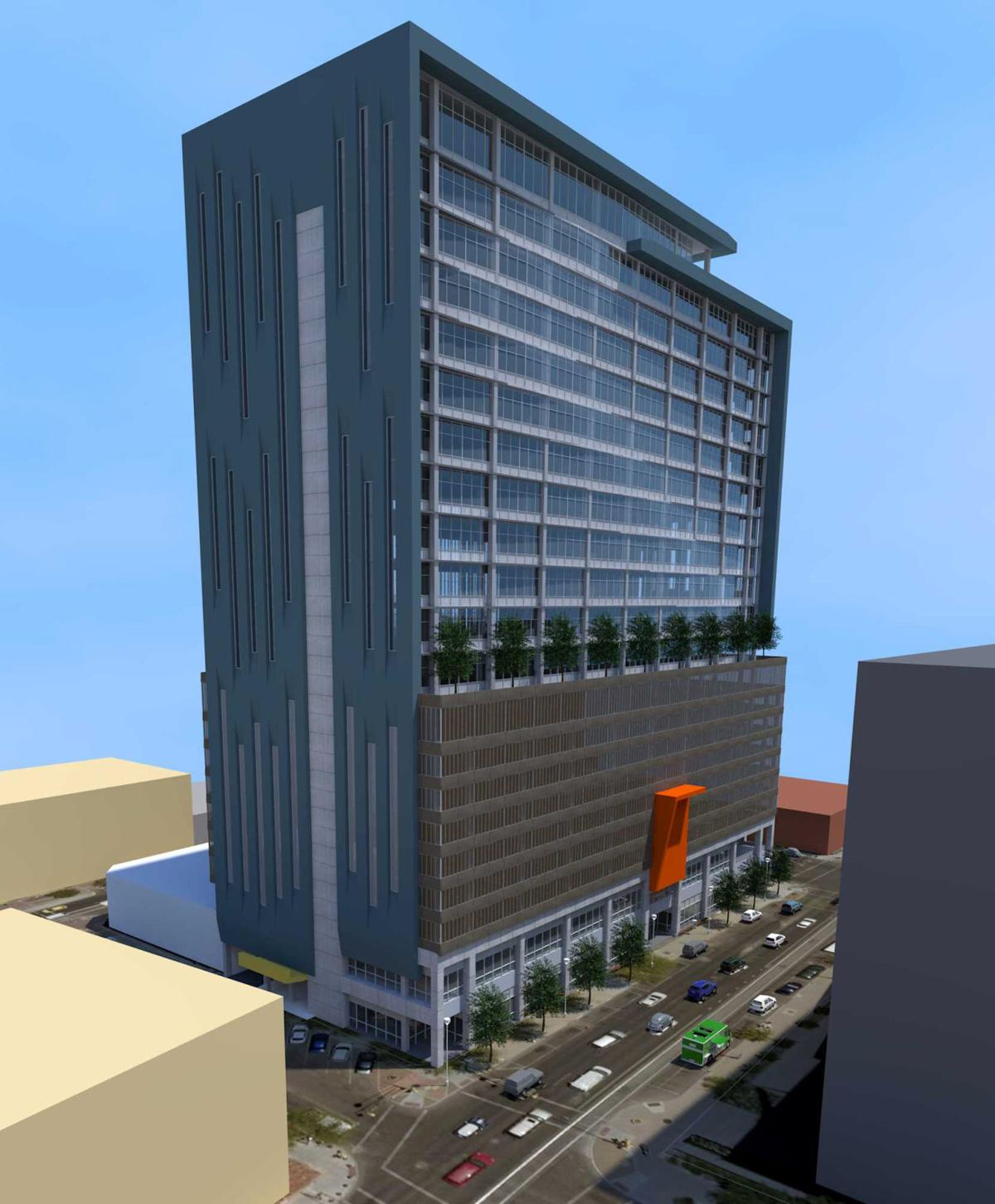 Rio Nuevo gives OK for new 20-story office building in