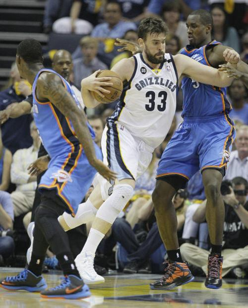 NBA playoffs: Grizzlies 87, Thunder 81: Grizzlies grit, grind OKC