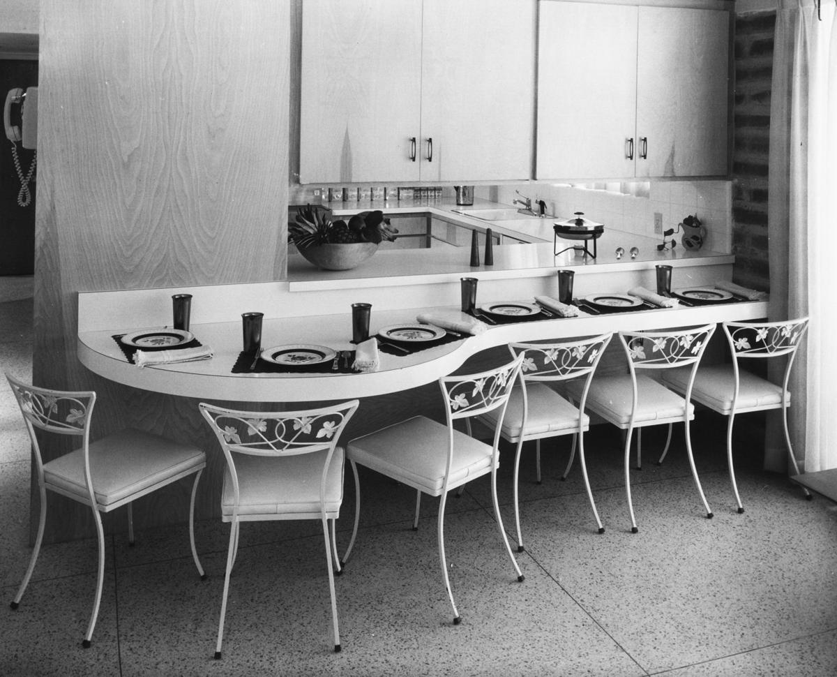 1961 photos: Room for kids and for grown-up entertaining