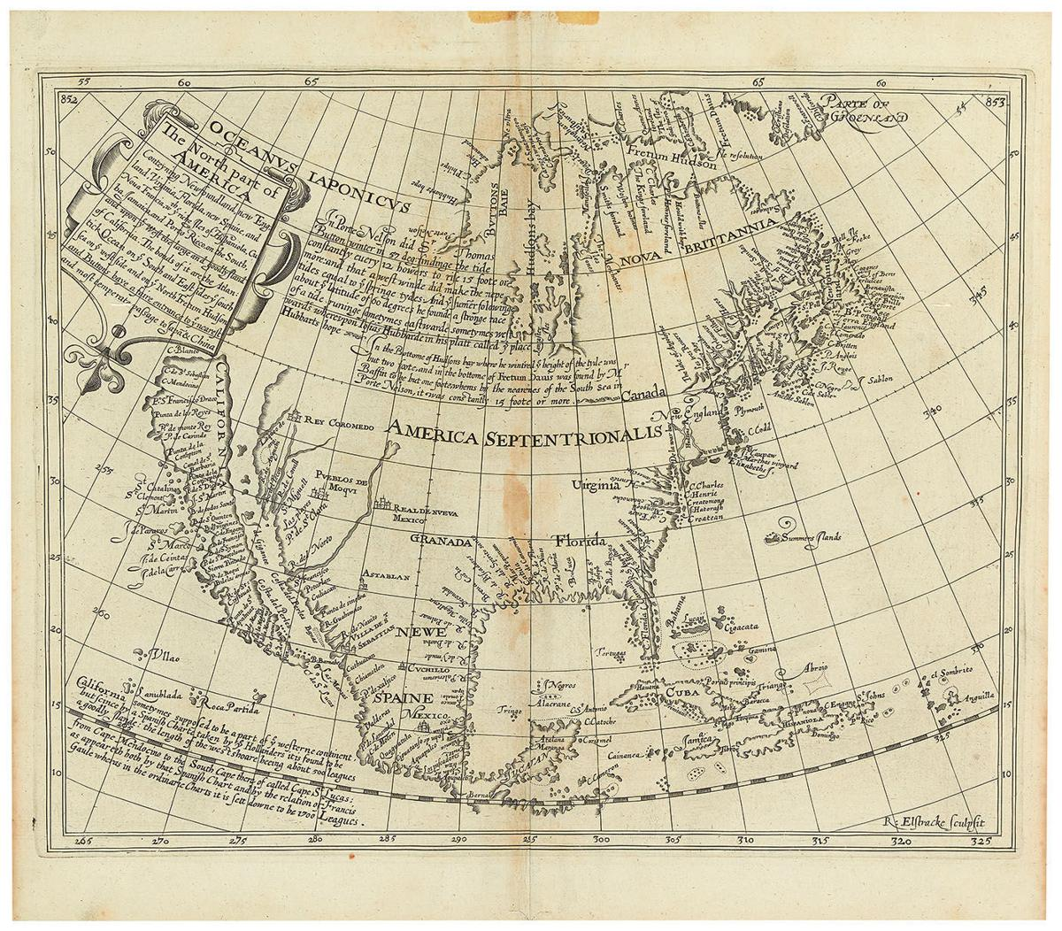 Show California Map.Early 17th Century Map Among First To Show California As Island