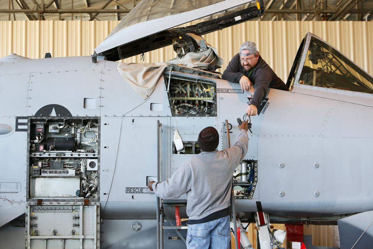 A-10 maintenance at AMARG