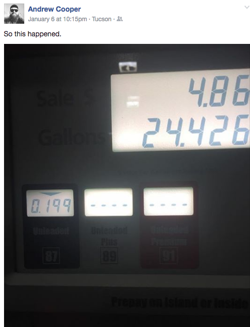 Gas Prices Tucson >> Lowest Gas Prices Anywhere Tucson Com