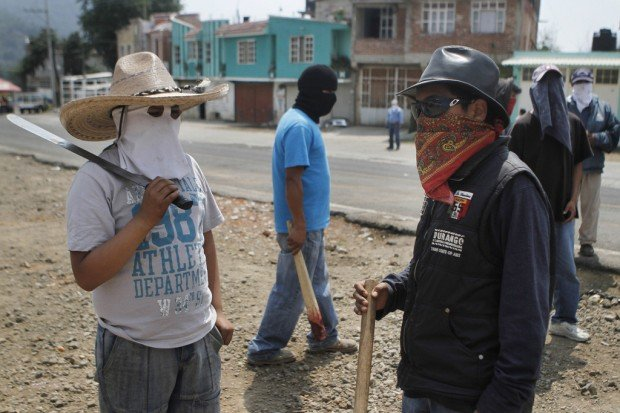 Mexican townspeople stand up to terror of drug cartels