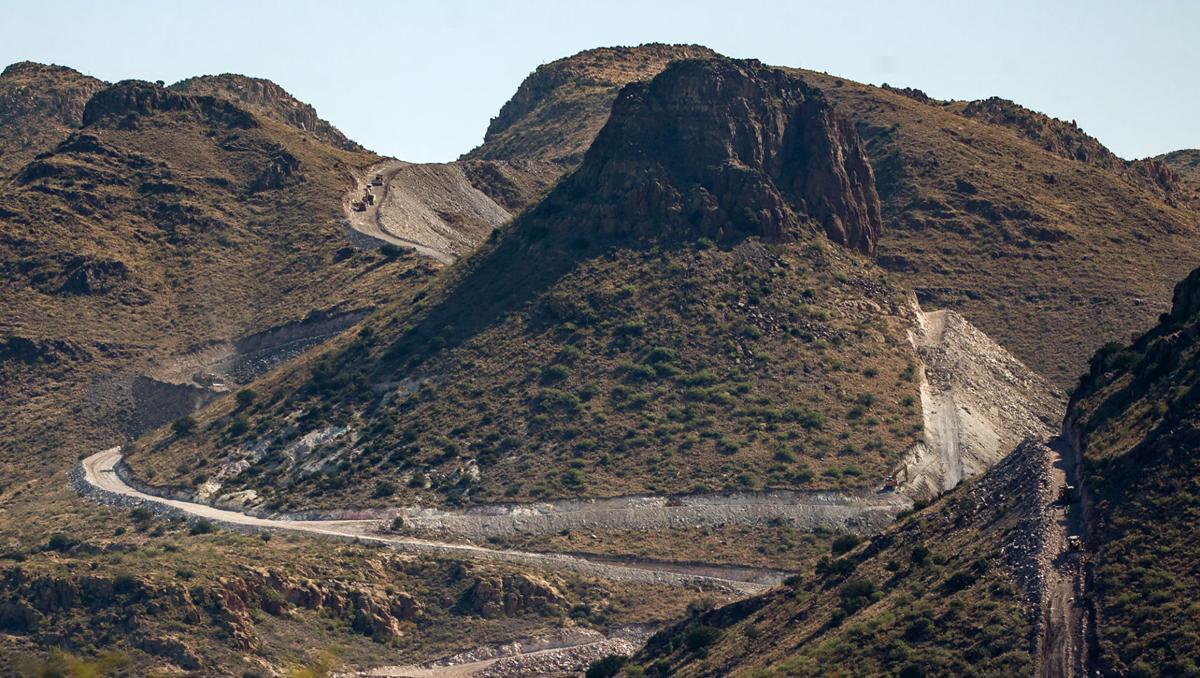 Guadalupe Canyon, border wall
