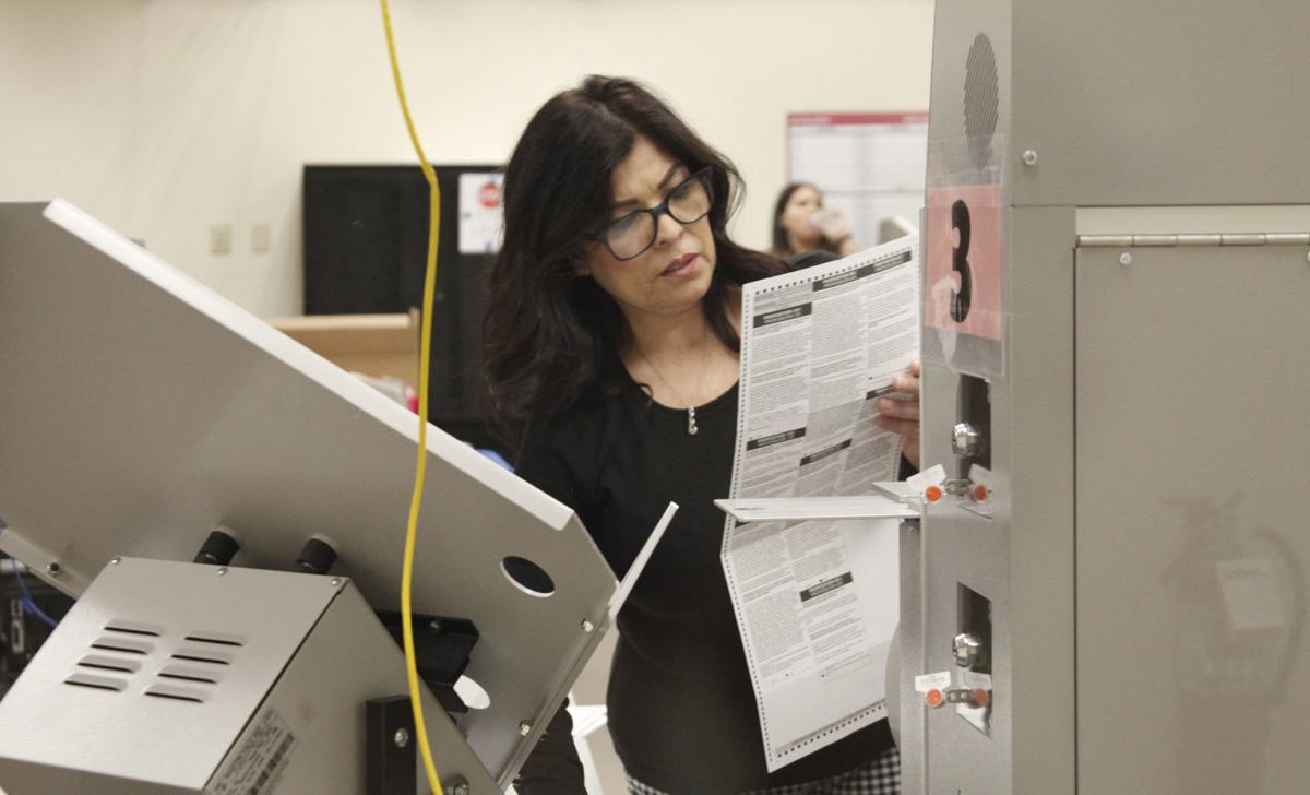 Early voter ballots