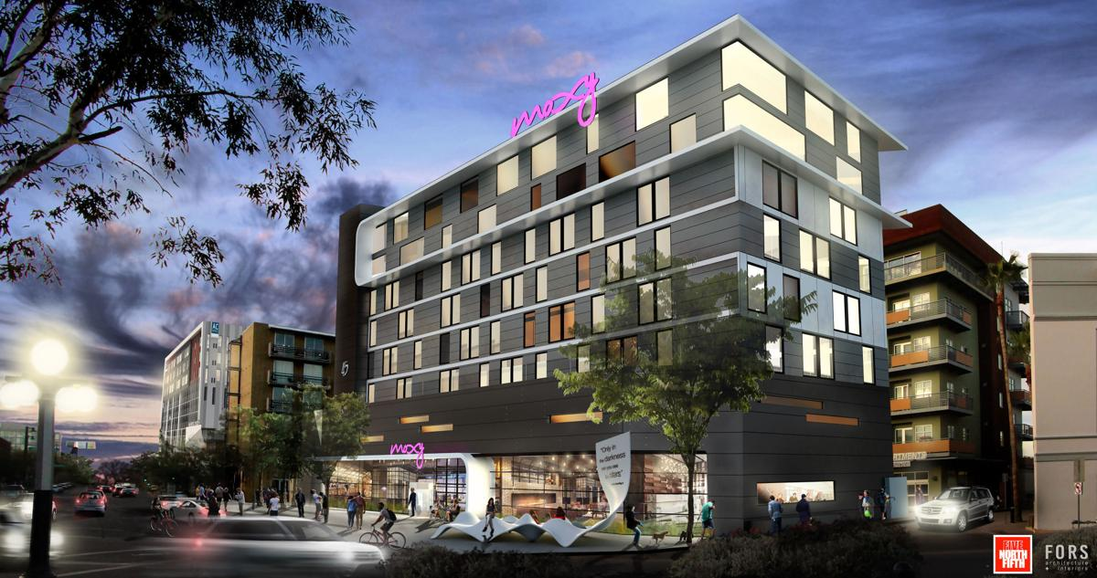 Proposed Moxy Hotel in downtown Tucson