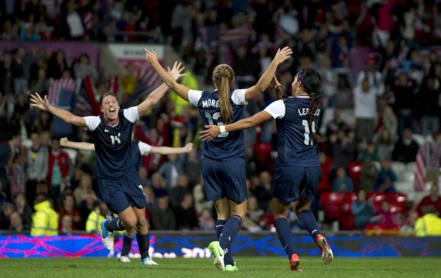 London Olympics: Women's Soccer: Lucky break, dramatic win