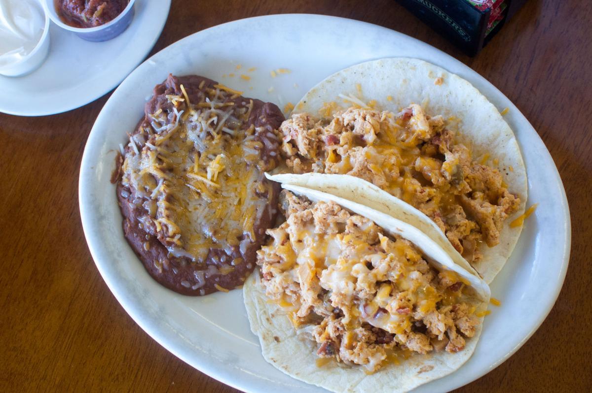 Sahuaro Cafe breakfast tacos