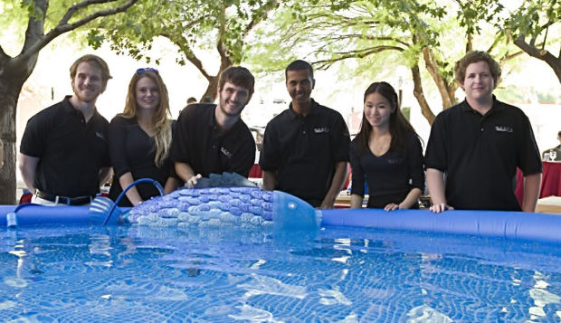 Engineering team's fish wins UA design award
