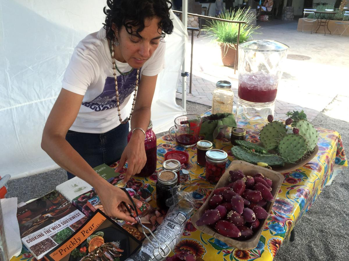 Prickly pear harvesting tips with Amy Valdés Schwemm