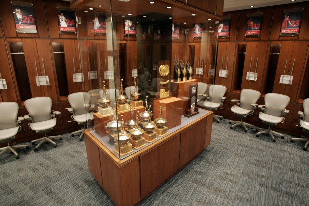 New UA Basketball Locker Room