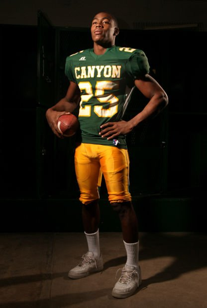 2010 Ka'deem Carey, Canyon del Oro (Offensive Player of Year)