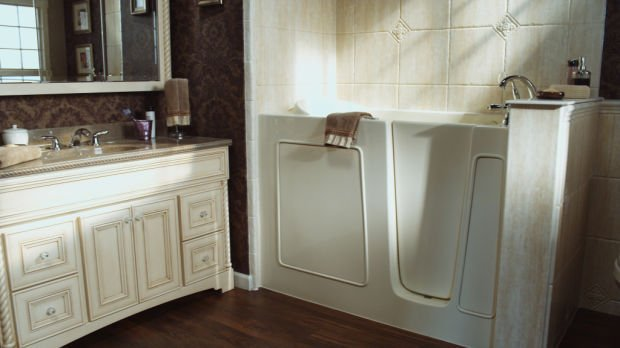 A walk-in tub can be an excellent choice for equipping your home for aging-in-place.