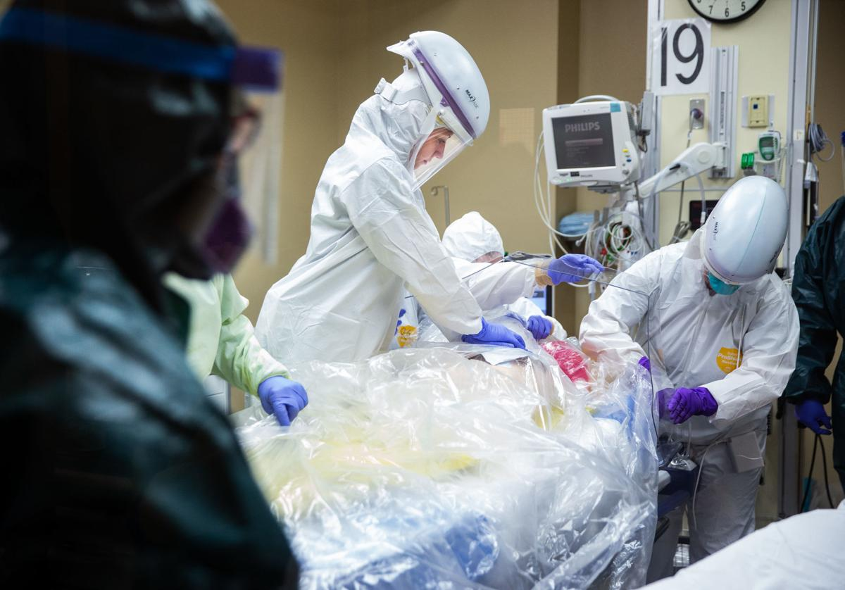 Tucson Medical Center, coronavirus drill