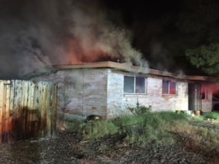 Tucson house destroyed in late-night fire | Tucson.com