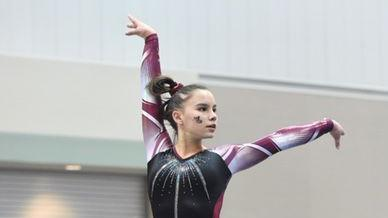 Greg Hansen's Sunday Notebook: Gymnast Gabby Bouza-Lazo's story as impressive as her routines