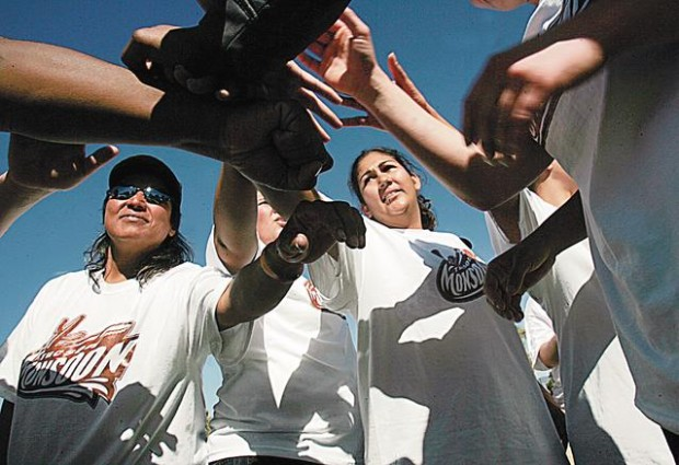 The women of the Tucson Monsoon are 'tackling football'