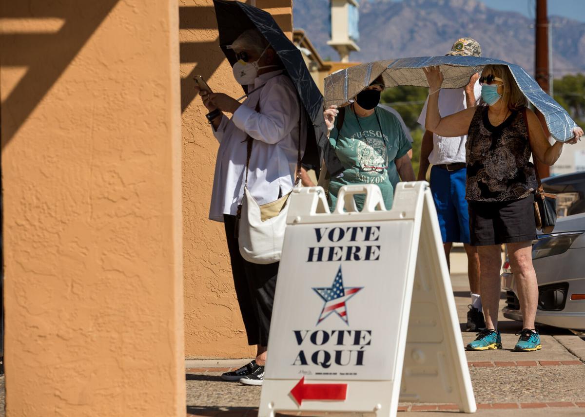 Voting, 2020 election, Tucson