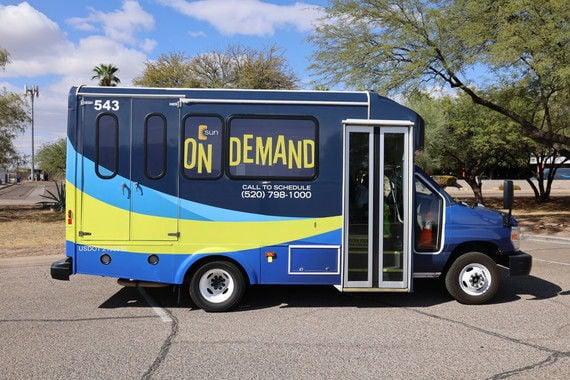 Sun on Demand bus