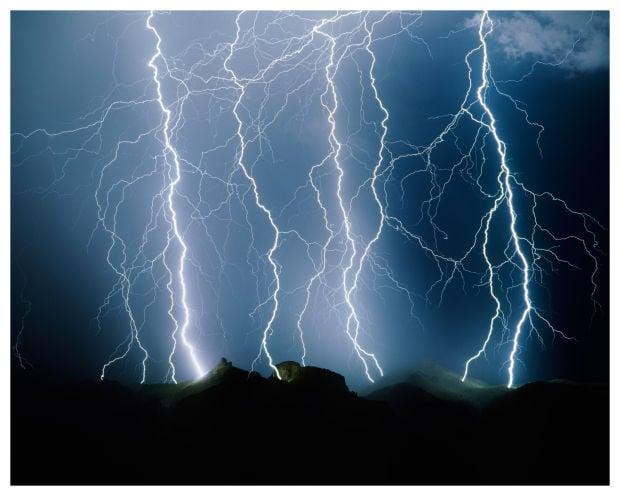 Thimble Peak Lightning
