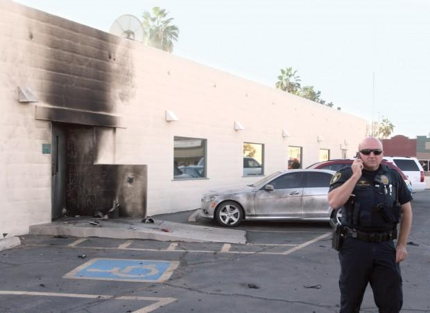 No injuries in blast at Casa Grande Social Security office