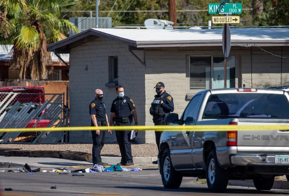 Tucson Police, Shooting scene