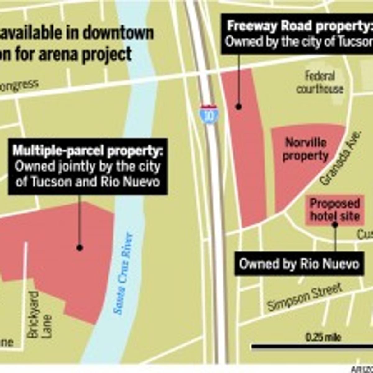 UA group looks into arena site downtown | News | tucson com