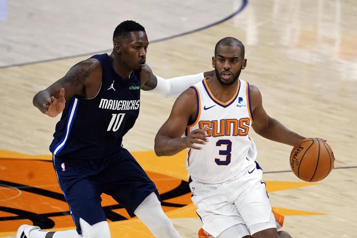 Mavericks Suns Basketball