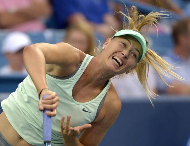Tennis: Sharapova, Fish withdraw from US Open