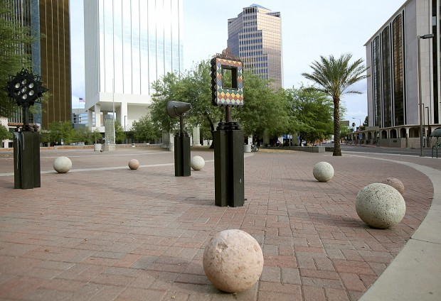 Tucson Oddity: Quirky, interactive pieces lost in downtown hustle