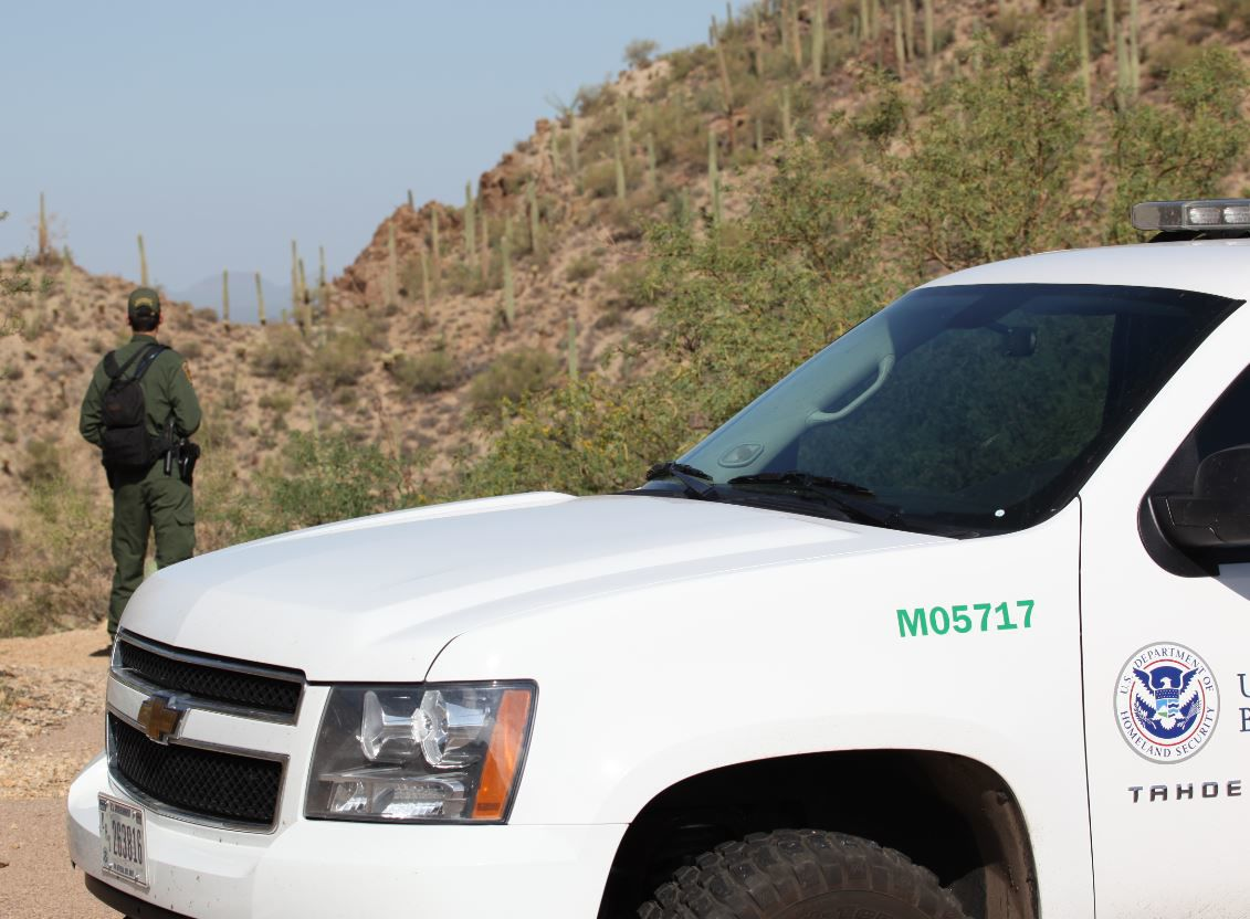 Border Patrol stock photo