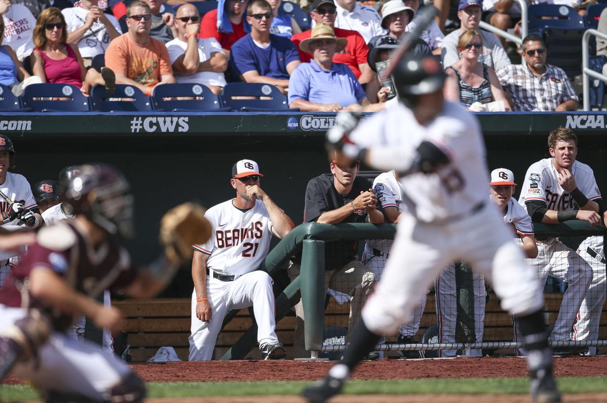 NCAA Baseball 2013: Mississippi State vs Oregon State June 15