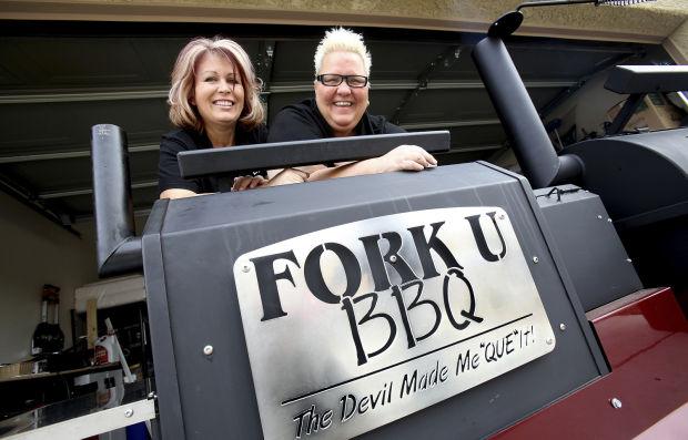 Fork U BBQ gals