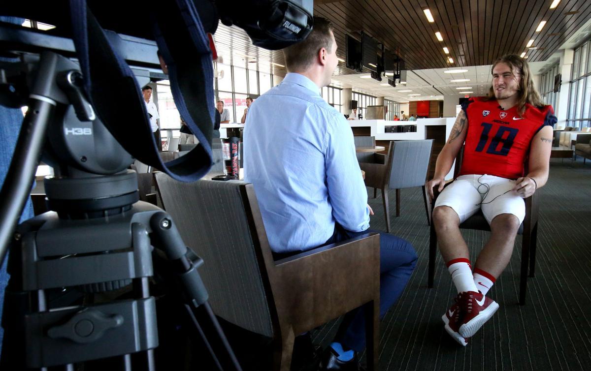UA Football Media Day